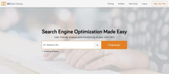Anmeldelse af SEO Site Checkup